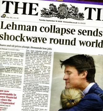Il crollo di Lehman Brothers