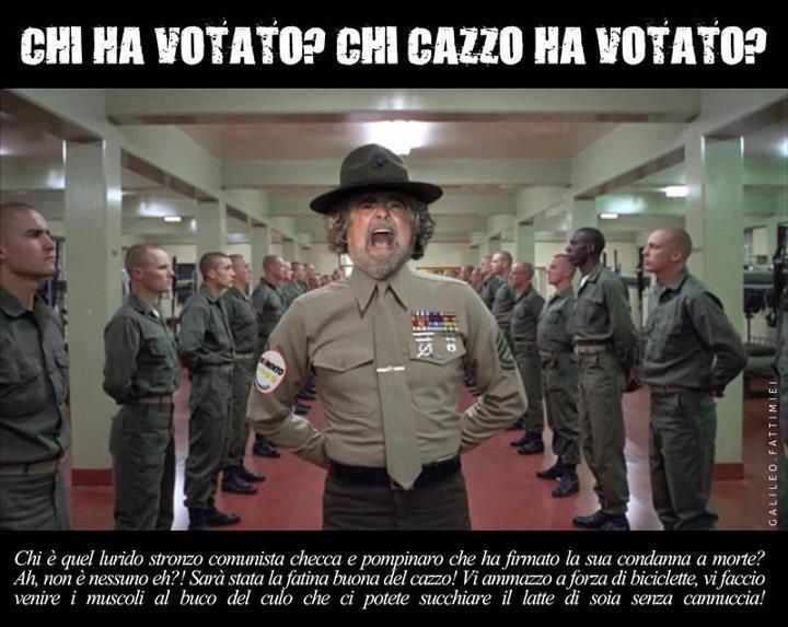 chi cazzo ha votato