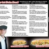 Vienna, il panino Impastato con la Mafia in bocca