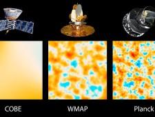 Confronto tra Cobe, Wmap e Planck