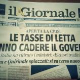 Cade il governo
