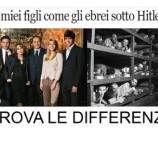 Berlusconi: #imieifiglisisentono come gli ebrei sotto Hitler