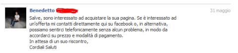 Cordiale ed educato: bravo Benedetto!