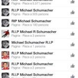 Facebook: Eutanasia forzata per Michael Schumacher