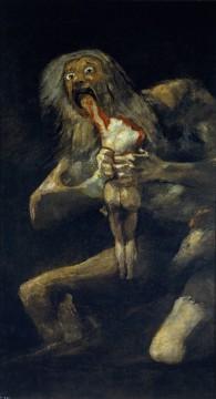 Saturno che divora i suoi figli, Goya, Spagna, 1819-1823