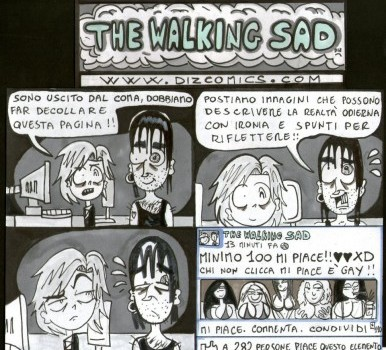 "THE WALKING SAD – IL ""MI PIACE"""