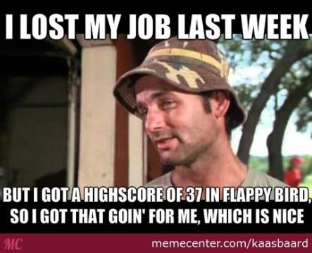 E ora cosa farà questo povero disoccupato?
