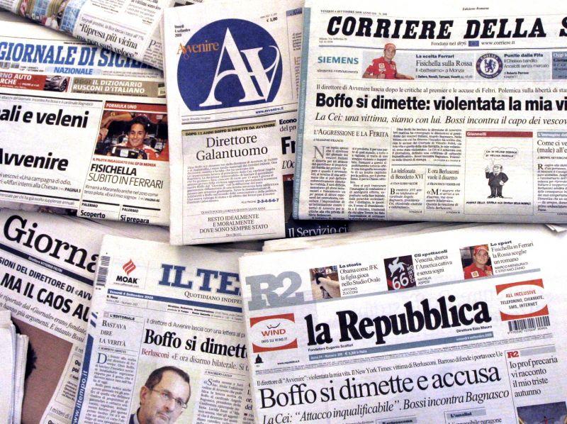 Quei bordelli del pensiero che si chiamano giornali piccola guida su quale quotidiano leggere - Giornali di cucina ...