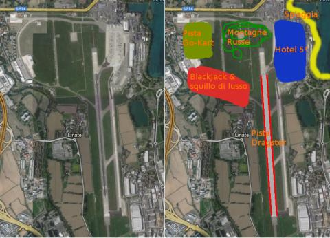 Progetto di riqualificazione area di Linate.