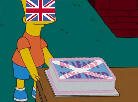 C'hai provato, Scozia