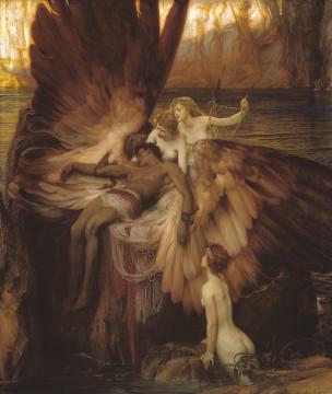 Herbert Draper, Il lamento di Icaro, Londra, Tate Britain, Olio su tela, 1898