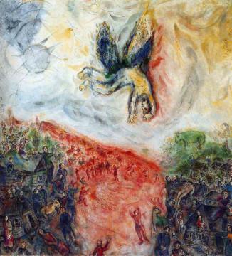 Marc Chagall, La caduta di Icaro, Parigi, L'Opéra national de Paris, olio su tela 1975