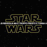 Star Wars VII: su Twitter la Forza si risveglia.
