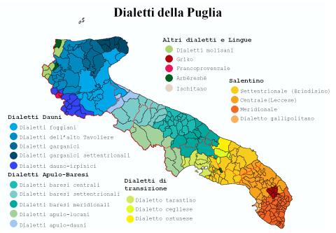 Dialetti Puglia