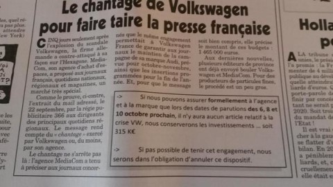 DIESELGATE-VW-l-article-du-CANARD-ENCHAINE-du-mercredi-30-septembre-2015