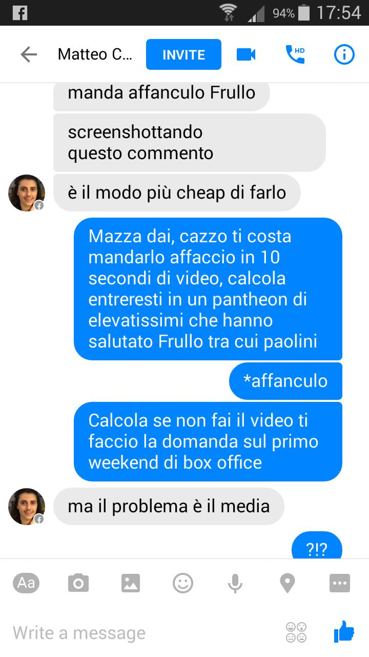 Never say no to Frullo.