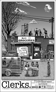 Clerks. - Poster by Tim Doyle(mrdoyle.com)