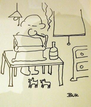 charles bukowski - autoritratto (raro)
