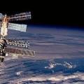 MIR orbiting Earth