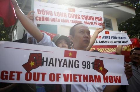Le proteste vietnamite successive alla sentenza del Tribunale dell'Aja