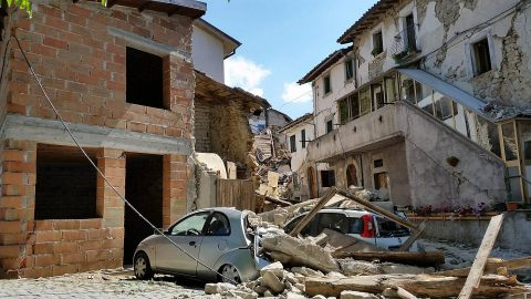 Terremoto a Sant'Angelo di Amatrice