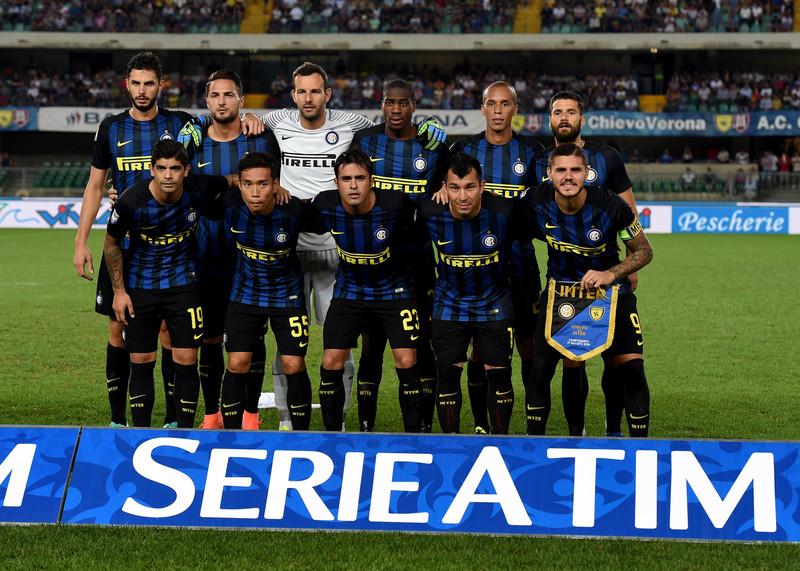 La formazione interista nella partita di Verona, foto: inter.it