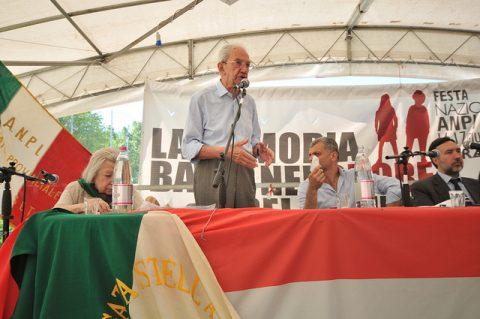 1 Il Presidente dell'Anpi Carlo Smuraglia - (CC BY-NC 2.0) ANPI