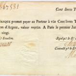 Banconota di John Law