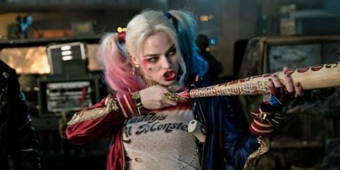 Harley Quinn in una scena del film