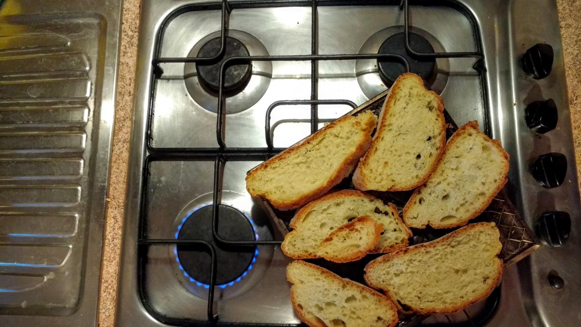 Fornello grande e fiamma al minimo, due o tre minuti per lato.