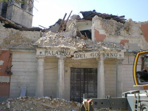 Terremoto, Prefettura dell'Aquila, 6 aprile 2005