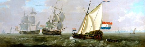 Navi della VOC solcano i mari