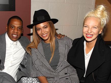 Beyoncè, Jay Z e Sia