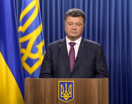 Il presidente ucraino Petro Poroshenko (ibitimes.co.uk)