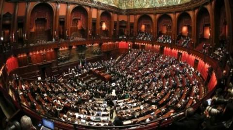 Il Parlamento in seduta comune.