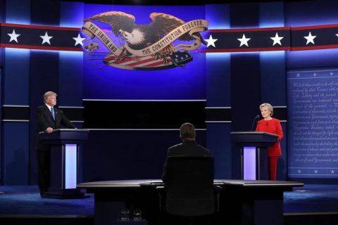 Clinton Trump Dibattito