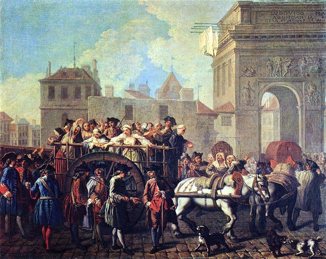 Étienne Jeaurat, La condotta delle prostitute all'Ospedale, 1757