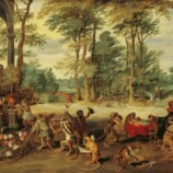 Jan Brueghel the Younger, Satire on Tulip Mania