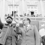Fidel Casatro, Salvador  Allende