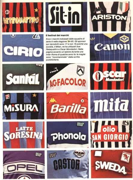Carrellata sponsor 1984 1985, fonte httpsoldacasuallife.wordpress.com