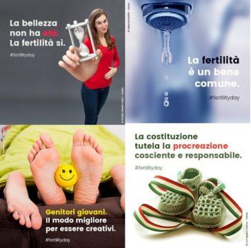 campagna ufficiale per il Fertility Day, sviluppata da Mediaticamente per il Ministero della Salute