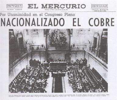 El Mercurio era un giornale di opposizione in parte finanziato dalla CIA