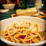 Quadrato Carbonara allo Spaghetto del Dislessico