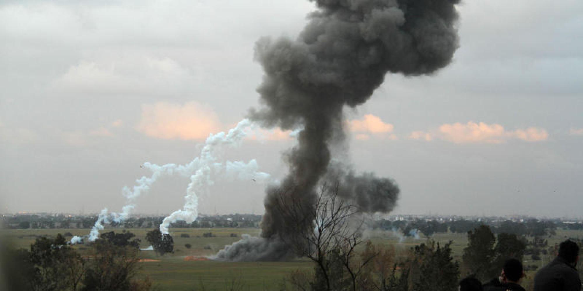 Attività di disinnesco bombe da parte del governo di Tripoli con la collaborazione italiana