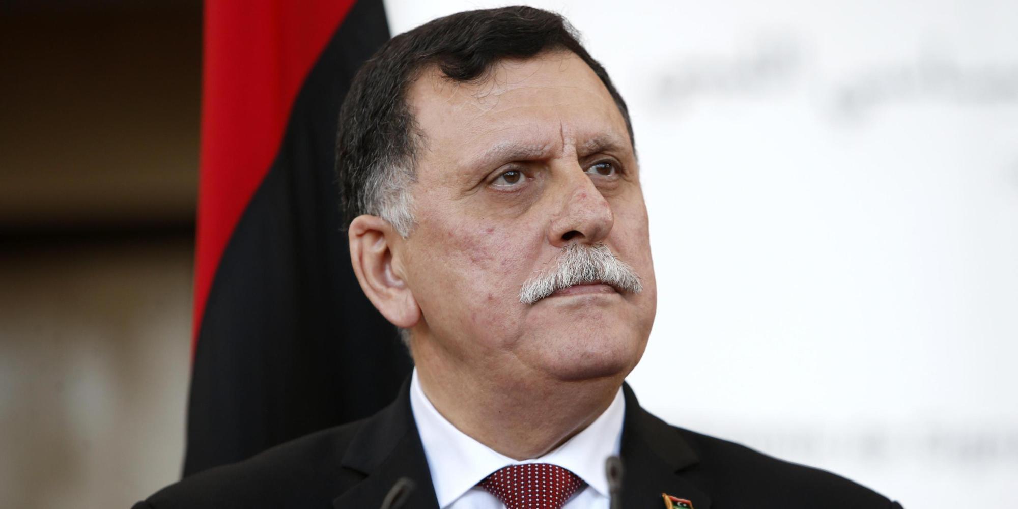 Fayez Sarraj, leader del governo tripolino
