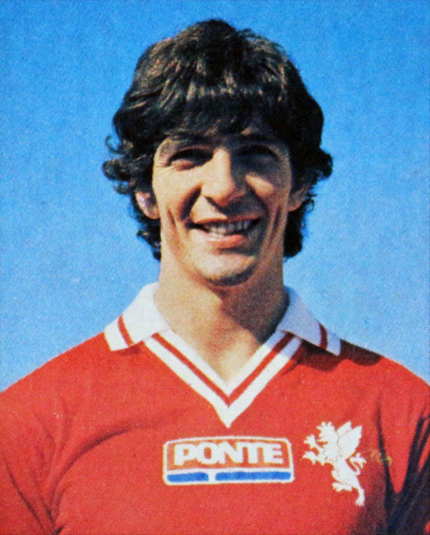 Paolo Rossi Perugia 1979 1980, la prima maglia con lo sponsor sul petto. Fonte Wikipedia