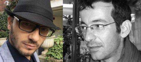 Marco Canestrari (a sinistra, foto Twitter) e Nicola Biondo