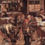 Brueghel Pieter the Younger, L'avvocato del villaggio