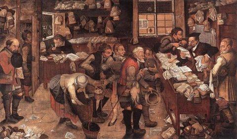 Brueghel Pieter the Younger, L'avvocato del villaggio.