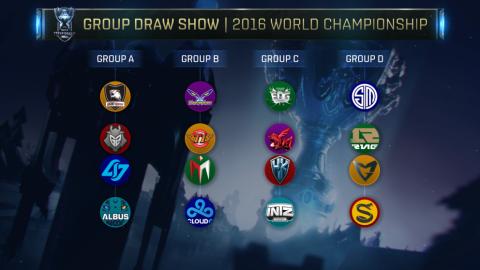 Gruppi Mondiale 2016